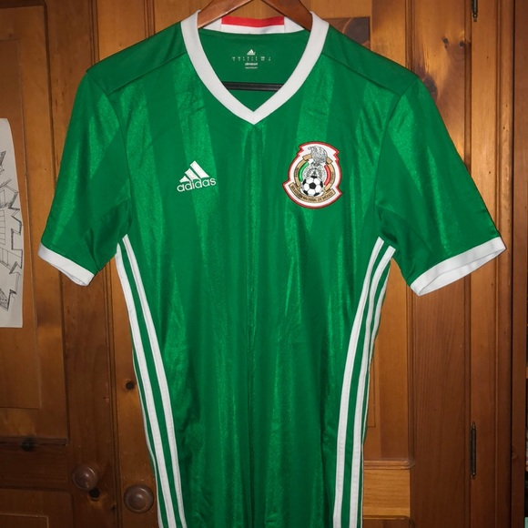Green Mexico soccer jersey size SMALL